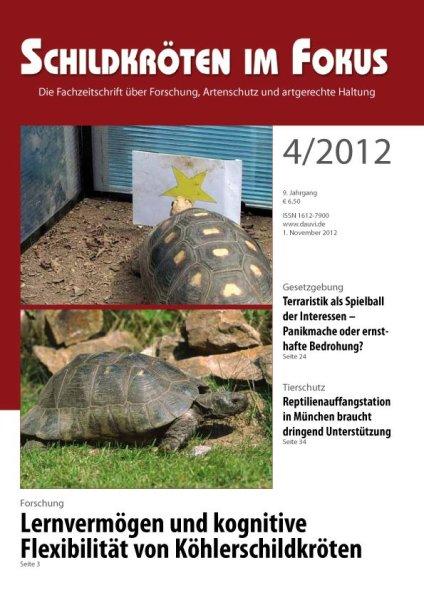 Schildkröten im Fokus Heft 4/2012