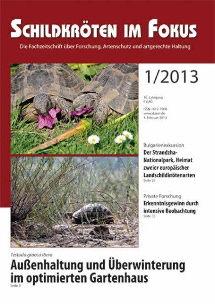 Schildkröten im Fokus Heft 1/2013