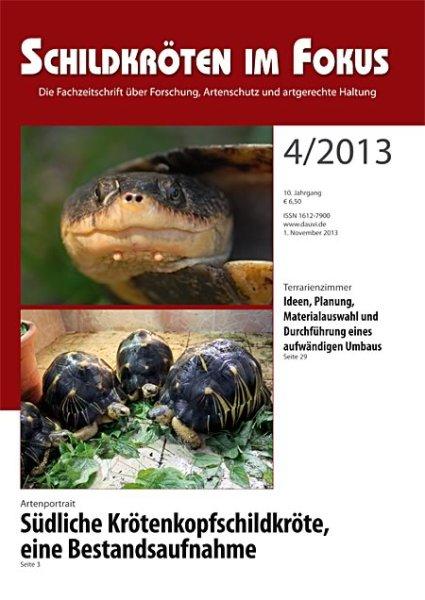 Schildkröten im Fokus Heft 4/2013