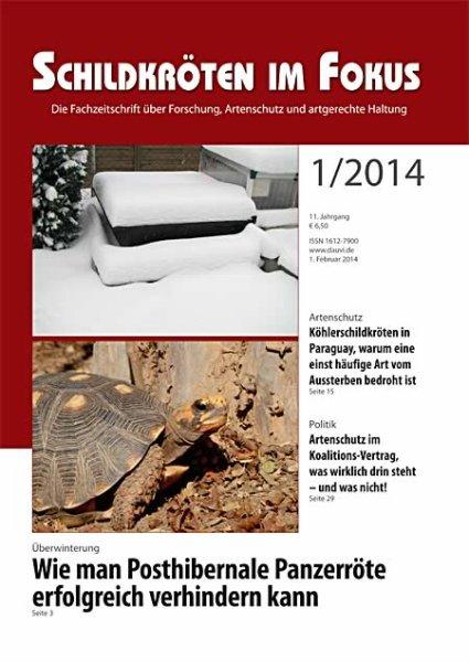 Schildkröten im Fokus Heft 1/2014
