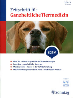 Zeitschrift für Ganzheitliche Tiermedizin - 2010/3