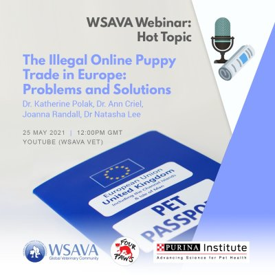 WSAVA Webinar: The Illegal Online Puppy Trade in Europe