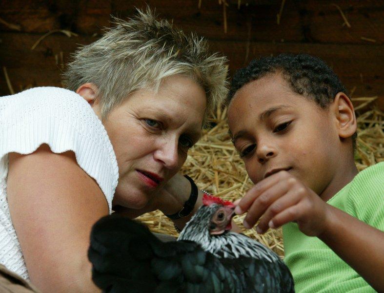 Ingrid Stephan, Gründerin und Leiterin des Instituts für soziales Lernen mit Tieren in Niedersachsen
