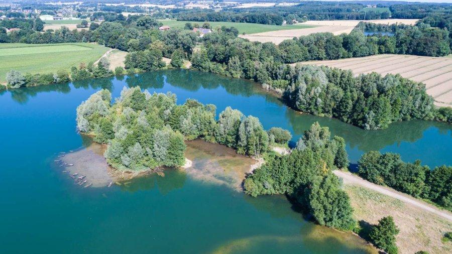 Der Linner See bei Osnabrück ist einer von acht Projektseen, in denen Totholzbündel eingebracht und ein neues Flachwasserareal geschaffen wurde.