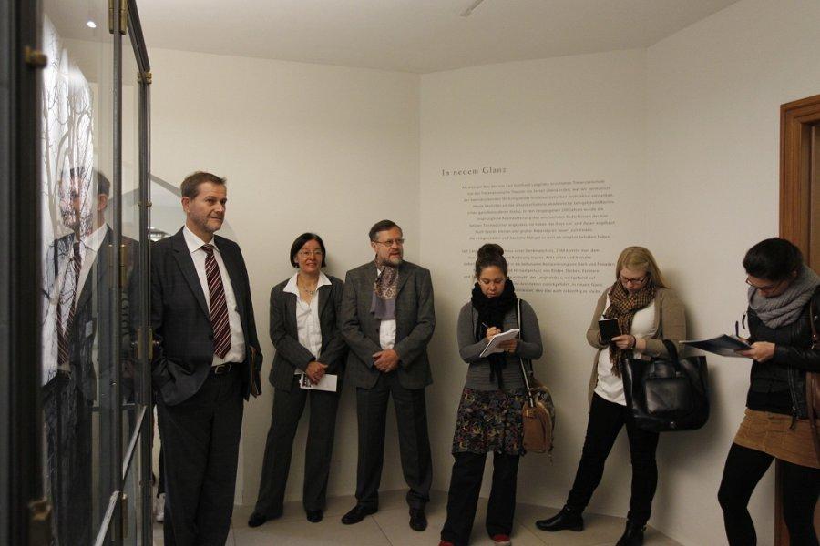 Eröffnung des Tieranatomischen Theaters der Humboldt-Universität zu Berlin
