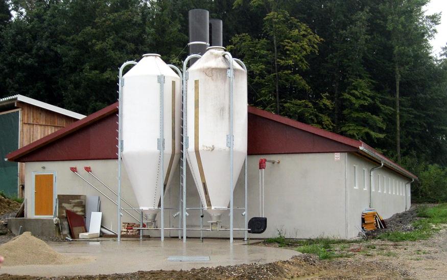 Forschungsstall zur Verminderung von Ammoniakemissionen
