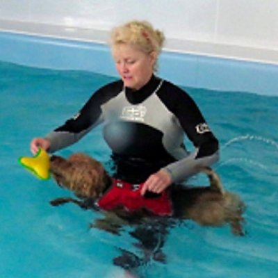 'Hydrotherapy' - its best use in rehabilitation; Bildquelle: Tracey Jones
