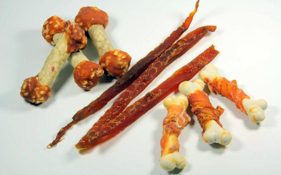 Chinesische Hühner-Trockenfleischsnacks